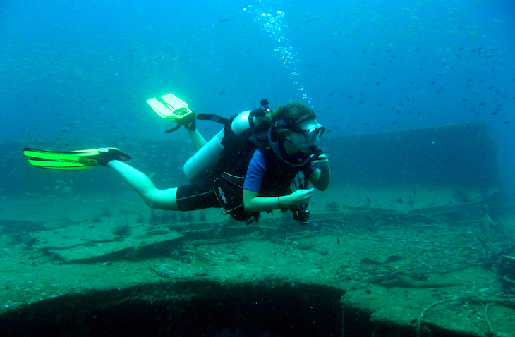 Scuba diving with Projects Abroad