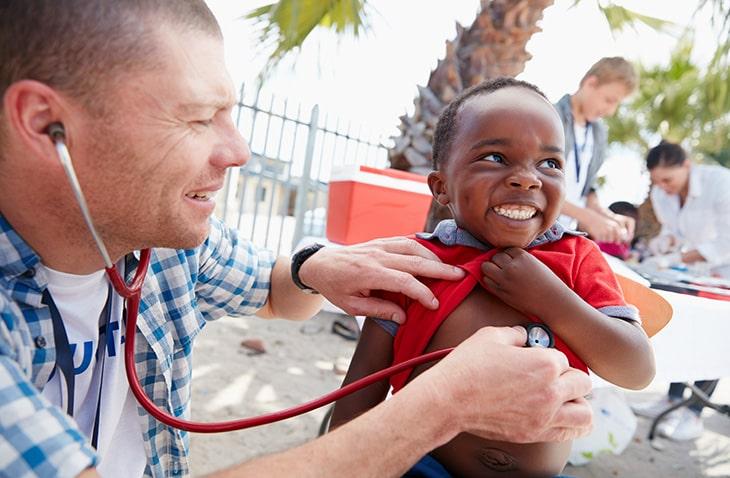 healthcare volunteering