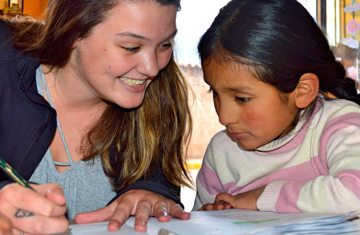Teen and high school volunteer abroad programs - under 18 mission trips - Maximo Nivel